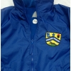 Fleece / rainproof  jacket with school logo
